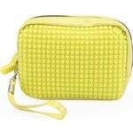 Žlutá kosmetická taška Pixelbags Canvas Handbag