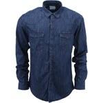 Tmavě modrá džínová košile Selected Jeno