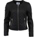 Černá dámská koženková bunda Vero Moda Sanna