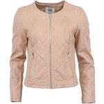 Růžová dámská koženková bunda Vero Moda Sanna