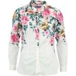 Krémová dámská košile s růžemi Tom Joule Maywell