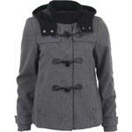 Šedý krátký kabát Vero Moda Dana