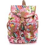 Barevný batoh s tropickým motivem Steve Madden