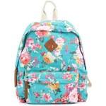 Tyrkysový batoh s potiskem květin Steve Madden