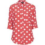 Topshop Longsleeve Spot Shirt