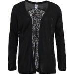 Černý cardigan s krajkou na zádech Vero Moda
