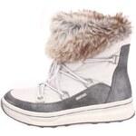 Šedé nízké zimní boty s kožíškem Tamaris