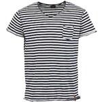 Modro-bílé pánské triko s pruhy Jack & Jones Milow