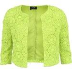 Neonově žluté krajkové sáčko AX Paris Crochet