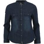 Dámská tmavě modrá džínová košile Bellfield Maxwell