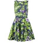 Šaty s tropickým motivem Closet