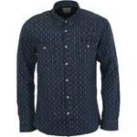 Tmavě modrá džínová košile Selected Slim Fit