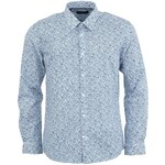 Bílá košile s modrými vzory Selected Florent Slim Fit