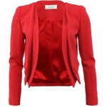 Červené sako Closet Double Hem