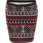 Vzorovaná minisukně Vero Moda Masai