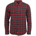 Kostkovaná košile laděná do červena Horsefeathers Lumberjack