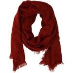 Červená šála Vero Moda Greco