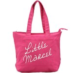 Velká růžová taška Little Marcel Sity