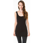 Tally Weijl Black Basic Long Top