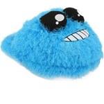 Maxi modrá plyšová bačkora s příšerkou Something Special