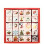 Adventní kalendář English Tea Shop Vánoční ozdoby s bio čaji