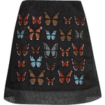 Topshop Butterflies Mini Skirt