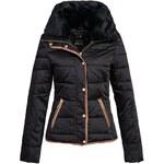 Sublevel dámská zimní černá bunda D5188N44204, Velikost XL, Barva černá