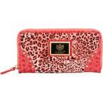 Růžová peněženka LYDC s leopardím vzorem