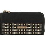 Černá peněženka s cvočky Anna Smith