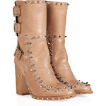Laurence Dacade Leather Studded Baulence Half Boots