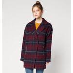 C&A Damen Oversize-Mantel in dunkelrot von Clockhouse