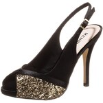 Menbur MUFFAT High Heel Sandaletten black gold