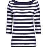 Christian Berg Women Blockstreifen-Shirt mit U-Boot-Ausschnitt