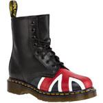 Glády DR. MARTENS - Union jack 8 Eye Boot 10950001 Black