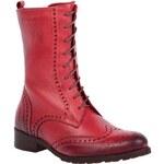 Kotníková obuv LAN-KARS - A5112-N-102 Červená