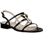 Sandály SAGAN - 2053 Černá