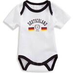 C&A Baby-Body in weiss / schwarz von Baby Club