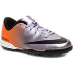 Polobotky NIKE - JR Mercurial Vortex TF 573875 508 Metalic Mach Purple/Black/TTL Orange