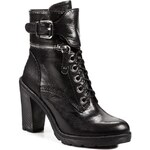 Kotníková obuv GUESS - Faray FL4FRY LEA10 BLACK