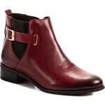 Kotníková obuv s elastickým prvkem BALDACCINI - 550500-9 Bordo/Black