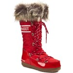 Sněhule MOON BOOT - W.E Monaco 24002800004 Red