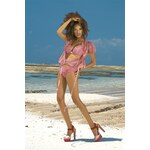 Dvoudílné plavky She Kim (23LQ) Sunny Beach Světlá růžová 36B