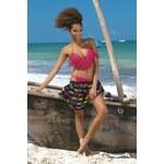 Dámské dvoudílné plavky She Ricky (26) Dream of Africa Růžová 38B