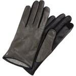 Eska Luxury TIRA Fingerhandschuh schwarz/asche