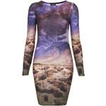 Topshop Desert Scene Bodycon Dress