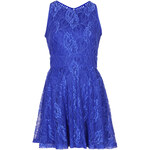 Topshop **Open Back Lace Skater Dress by WYLDR