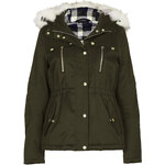 Topshop Short Padded Parka Jacket