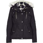 Topshop Short Padded Parka Jacket