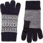 ASOS Touch Screen Glove in Birdseye Stitch