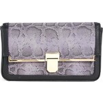 ASOS Clutch Bag With Front Lock And Bar